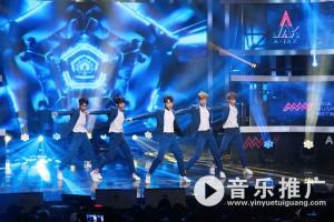 人气韩团A-JAX帅气来袭 韩国DMC Festival音乐节大显身手